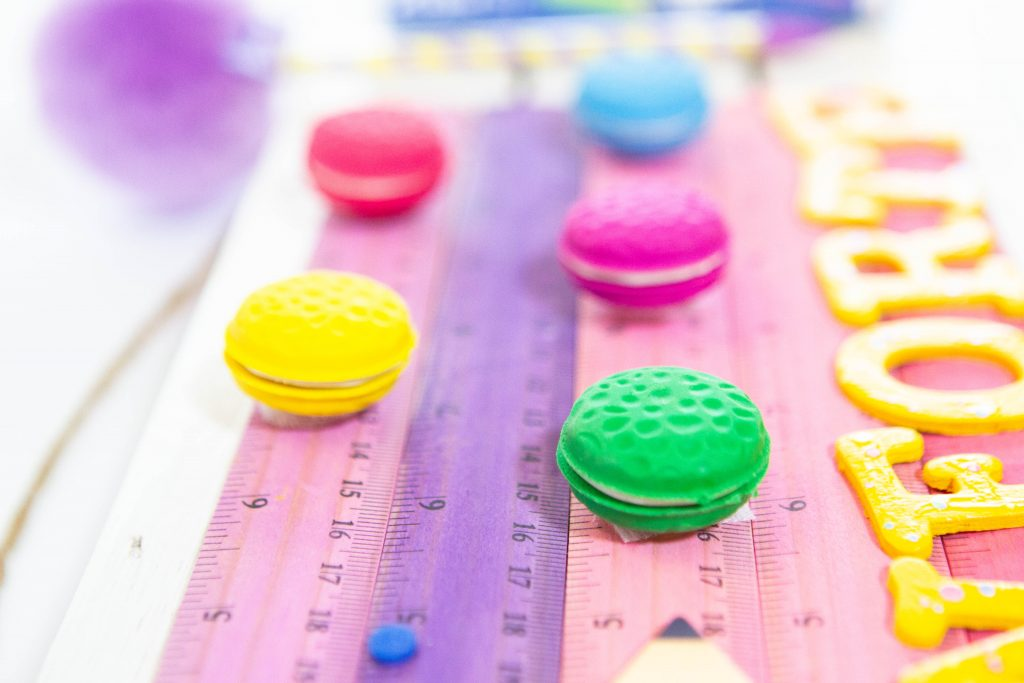 Le Macaron Patiesserie Scented Erasers