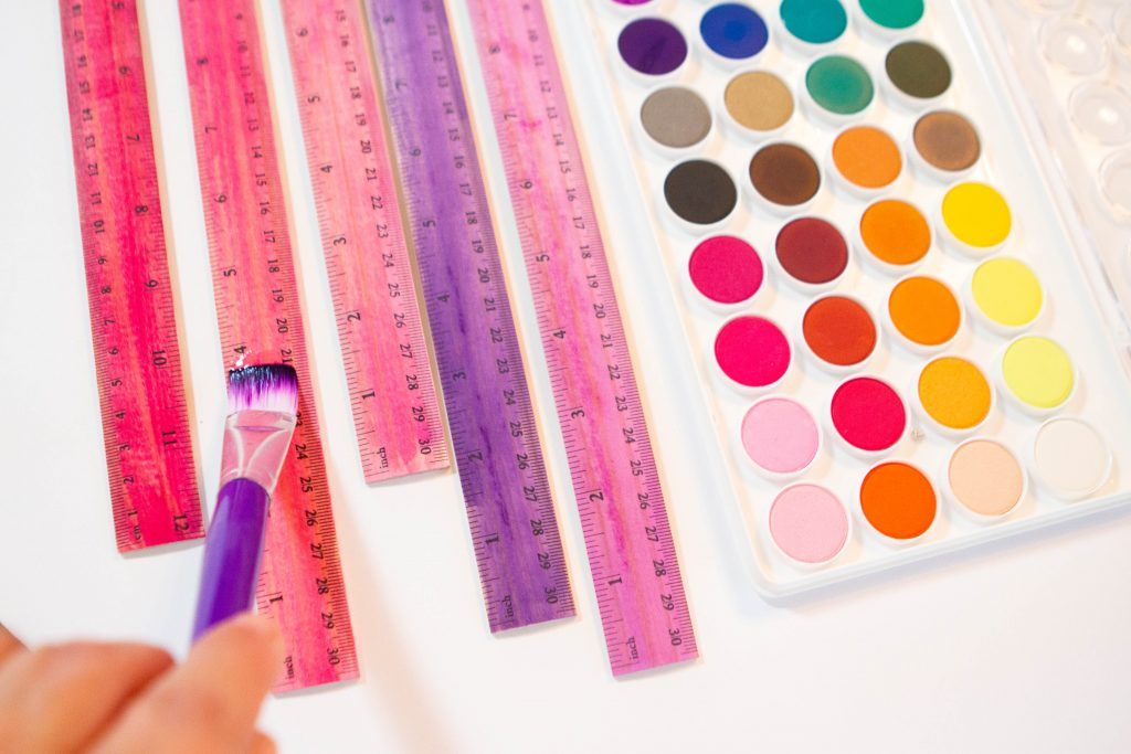 painting rulers